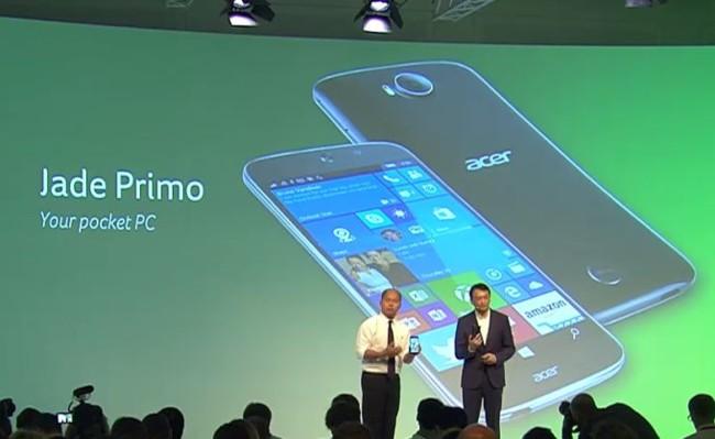 Acer Jade Primo, el primer teléfono Windows 10 que se convierte en ordenador