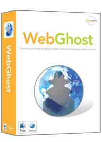 WebGhost, navegación privada al instante