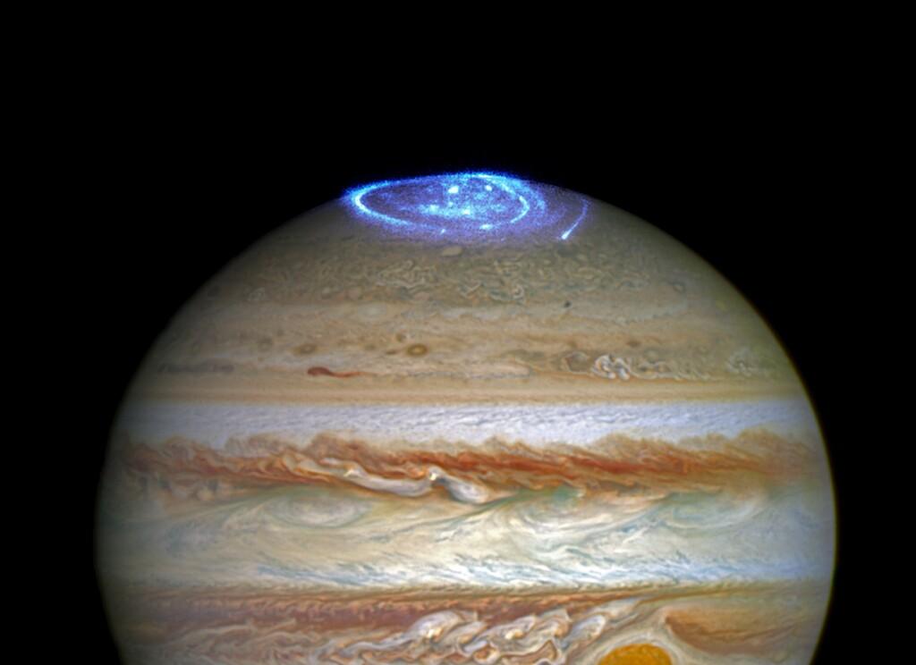 Así son las auroras en Júpiter: un magnífico fenómeno que ahora ha sido capturado por la nave Juno de la NASA