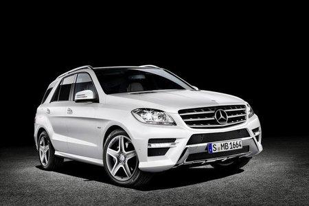 Mercedes-Benz Clase M 2012, otro que se ha filtrado
