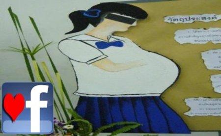 Tailandia culpa a Facebook de los embarazos no deseados en adolescentes