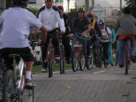 Bogotá y la bicicleta
