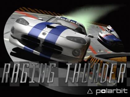 'Raging Thunder', carreras de coches en 3D para iPhone e iPod Touch