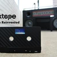 MIXXTAPE es un reproductor de música digital en forma de cassette que también se puede reproducir en un Walkman