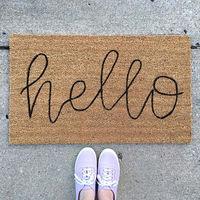 25 felpudos originales y divertidos para dar la bienvenida en tu casa