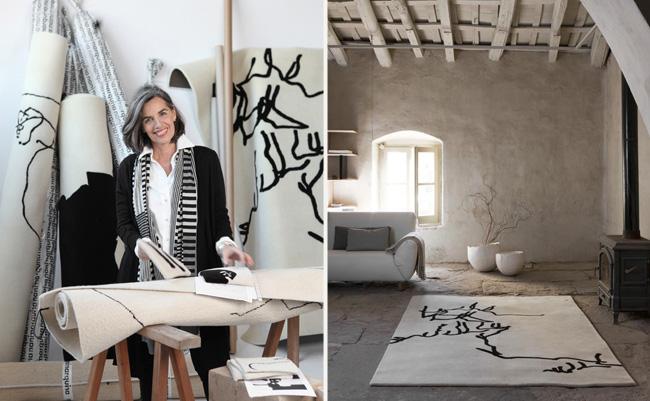 Alfombras homenaje a chillida de nani marquina - Nani marquina alfombras ...