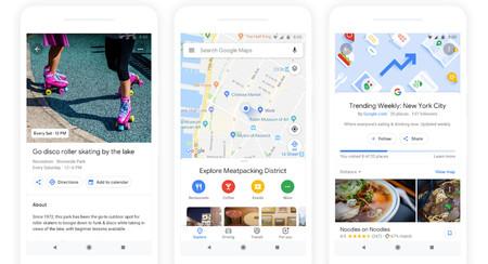Google Maps quiere encontrar tu próximo bar favorito y otras novedades presentadas en el Google I/O