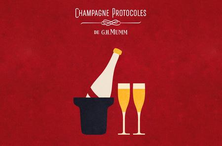 100 Champagne G.H. Mumm Protocolos, el 'savoir-faire' del champagne a tu alcance