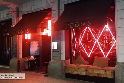 Restaurante L´EGGS by Paco Pérez, el huevo es el protagonista