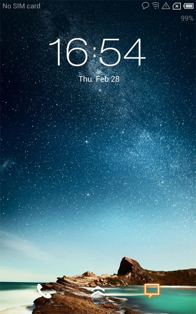 Capturas de pantalla Meizu MX2