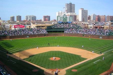 Visita al estadio de los Chicago Cubs