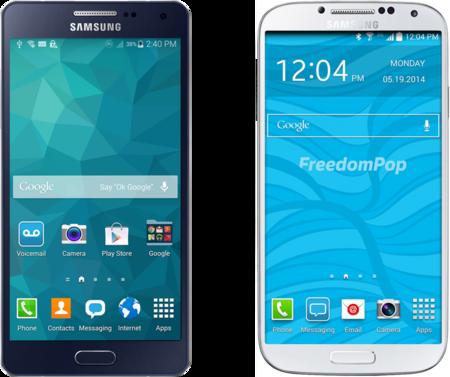 Los móviles reacondicionados llegan a FreedomPop: Samsung Galaxy S4 por 99 euros o A5 por 149 euros