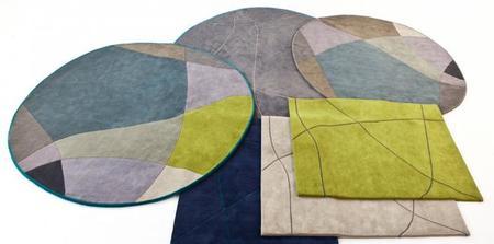 Los campos verdes de Greenwich Park, motivo de inspiración de las nuevas alfombras Bene