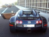 """El Vaquilla"" polaco roba un Bugatti Veyron Grand Sport Sang Bleu y lo abandona en la autopista"