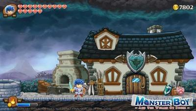 Wonder Boy tendrá un sucesor casi tres decadas después con Monster Boy para PS4 y PC