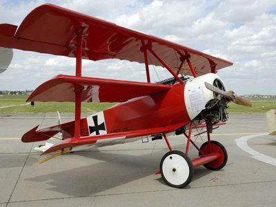 Manfred Von Richthofen, el mito del Barón Rojo