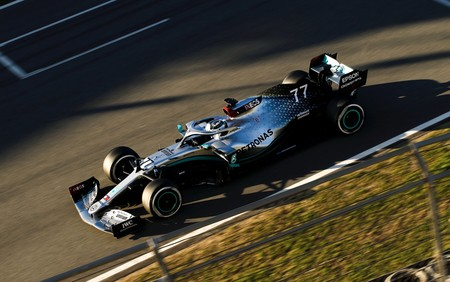 Bottas Montmelo F1 2020
