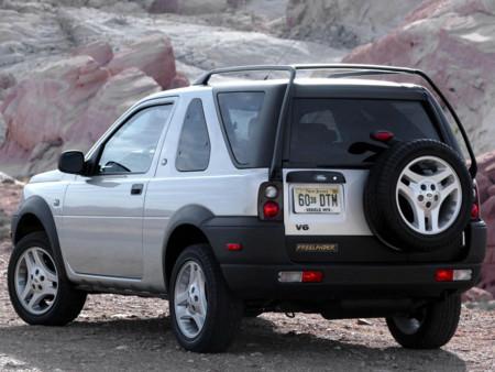 El Freelander, a la división Land Rover Heritage: un golpe bajo  para el glamour