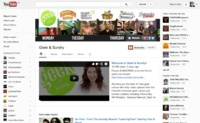 YouTube estrena un nuevo diseño para las páginas de sus canales