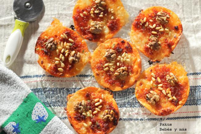 Pizzetas Sobreasada Miel Y Frutos Secos