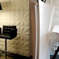 Envolver las paredes de tu hogar con paneles tridimensionales da otra perspectiva a tu decoración