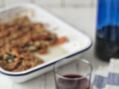 Guarnición de calabacines a la provenzal. Receta vegetariana para cuidarse disfrutando