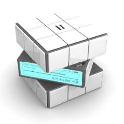 Cubo de Rubik con reproductor MP3