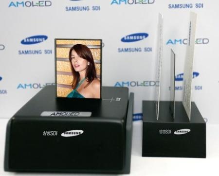 Samsung comienza la producción en masa de pantallas AMOLED
