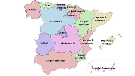 Mapa Del Ocio En Espana