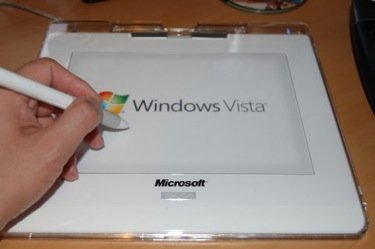 Tabletas digitalizadoras con Windows Vista