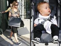 Las Vans de Ashlee Simpson y Shiloh Jolie Pitt