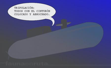 De cinturones, submarinos y bolsas