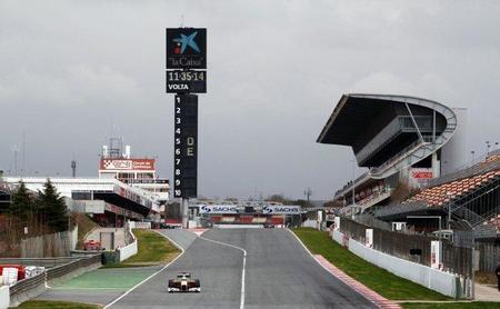 El Gran Premio de España tendrá una zona de DRS de 830m