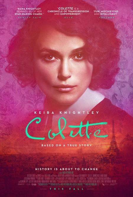 Colette Biopic Kiera Knightley