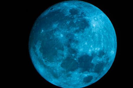 Luna Llena Azul Haloween 2020