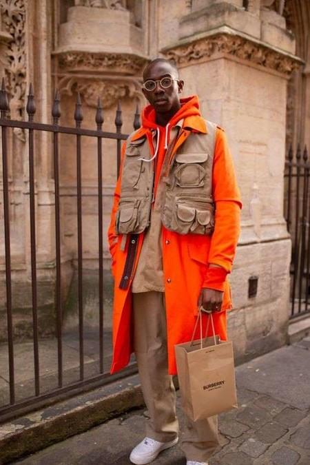 El Mejor Street Style De La Semana El Naranja Se Impone Como El Color De Transicion De Temporada 09