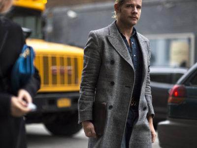 El mejor street-style de la semana: entre abrigos y americanas anda el juego