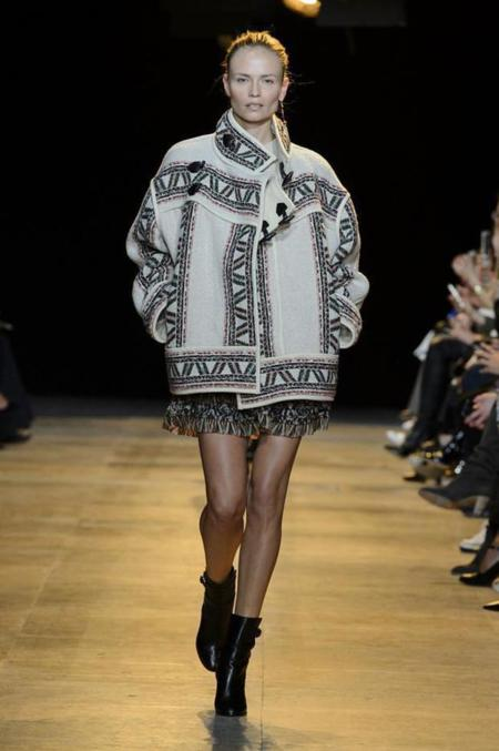 Isabel Marant continúa arrasando con su estilo casual en la colección Otoño-Invierno 2015/2016