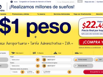 Vuelos desde 22.000 pesos colombianos: la oferta de VivaColombia que está vigente hasta el 5 de julio