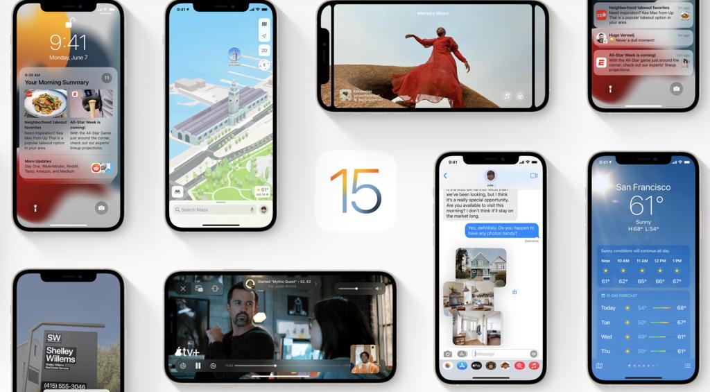 La 3.ª beta(programa) de iOS℗ 15 y iPadOS 15 y demás sistemas operativos ya está disponible para programadores