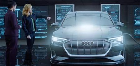 Audi e-tron el coche de la Capitana Marvel en