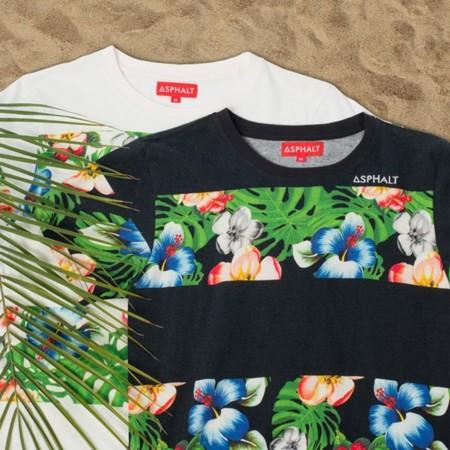 Asphalt Yacht Club (AYC) y sus camisetas de flores