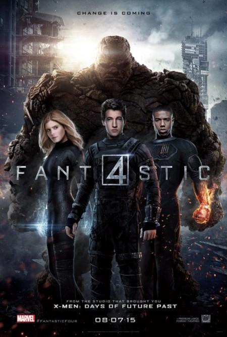 'Cuatro Fantásticos', últimos carteles