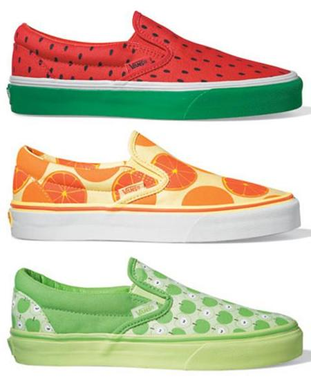 Zapatillas Vans Slip-On Fruit Pack
