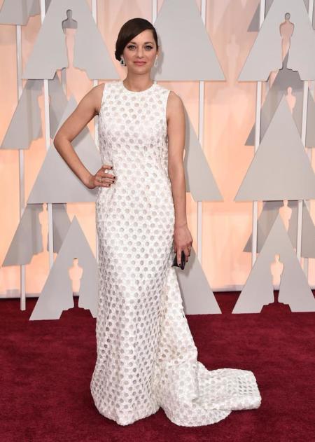 Marion Cotillard Oscar 2015 Dior