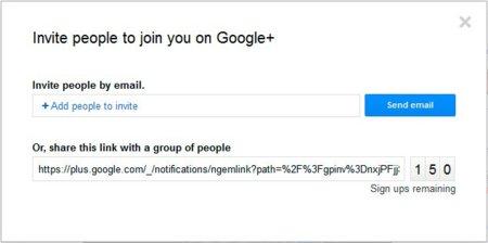 Google+ cambia el sistema de invitaciones para facilitar el acceso
