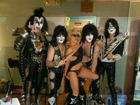 ¿Lady Kiss? ¿Kiss Gaga? Bizarro, bizarro