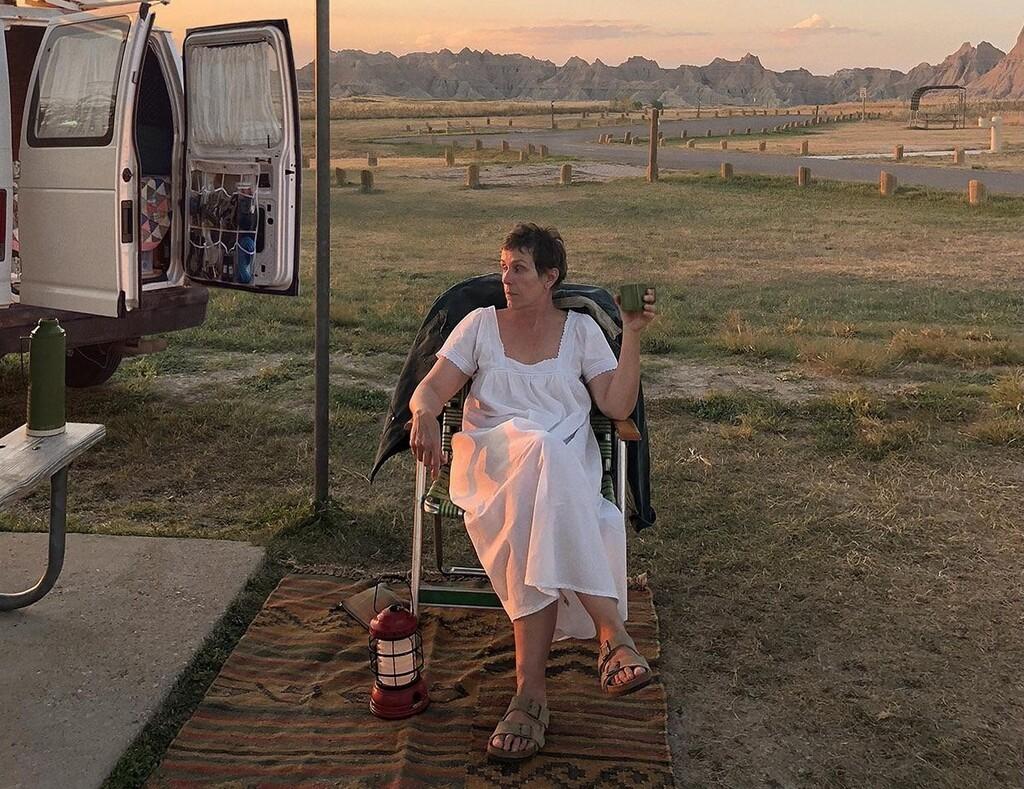 'Nomadland': Frances McDormand brilla en una estupenda película que parte como gran favorita al Óscar