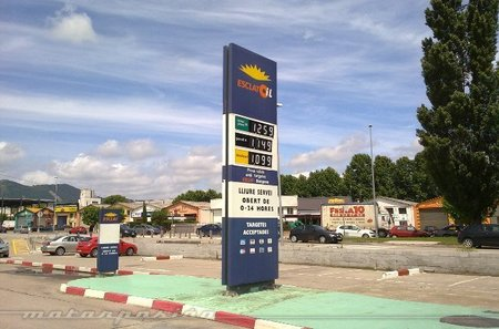 Gasolinera low-cost