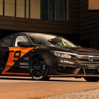 Deep Orange 9: el Honda Civic híbrido de Rallycross creado por estudiantes universitarios